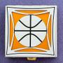 Basketball Pill Box