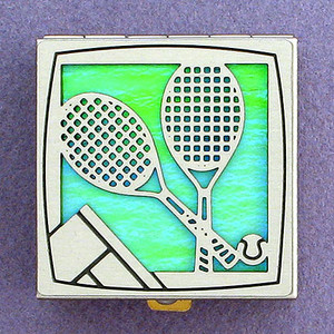 Tennis Pill Box