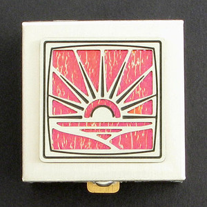 Sunrise Tiny Pill Box