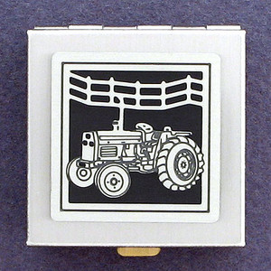 Farm Tractor Little Pill Box