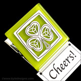 Shamrock Magnetic Clips