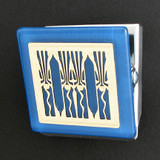 Retro Art Deco Clip Magnets