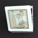 Wine Glasses Kitchen Magnet Clip