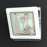 Wine Glasses Kitchen Magnet Clip
