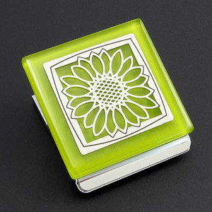 Sunflower Kitchen Magnet Clip