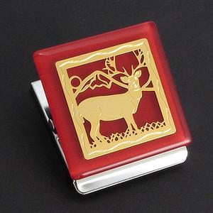 Deer Refrigerator Magnet Clip