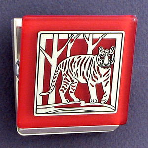 Tiger Fridge Magnetic Clips
