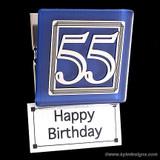 Number 55 Kitchen Magnet Clip