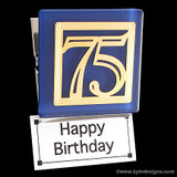 Cool 75th Birthday Magnets