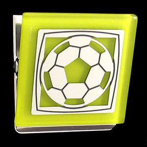 Soccer Magnet Clip