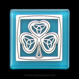 Shamrock Fridge Magnet