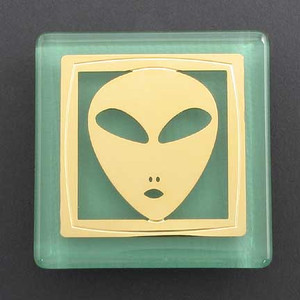 Alien Fridge Magnet