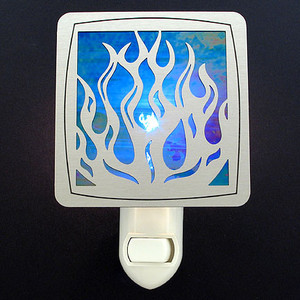 Flames Night Light