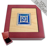 Custom Jewelry Box - Designer Inlays
