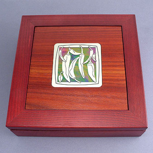 Chili Pepper Jewelry Box