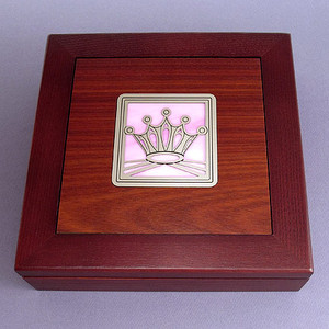 Princess Crown Jewelry Box
