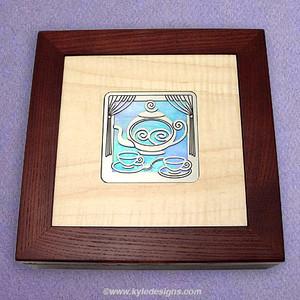 Tea Chest Decorative Wooden Box