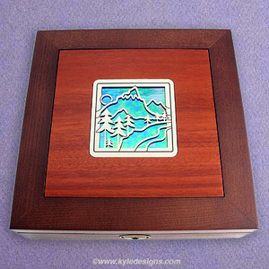 Mountain Jewelry Box