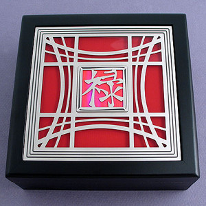 Asian Character Jewelry Box