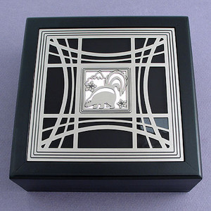 Skunk Jewelry Box