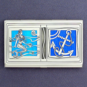 Little Mermaid Business Card Case