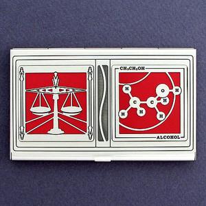 DUI Attorney Business Card Case