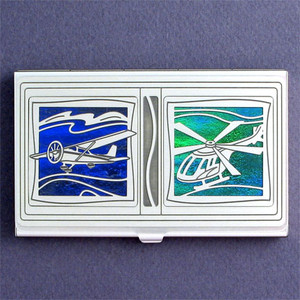 Light-Sport Aircraft Business Card Case