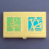 Landscape Architect Business Card Case