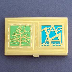 Landscape Architect Business Card Case