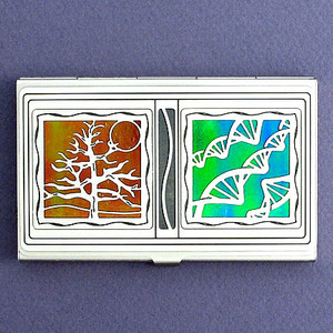 DNA Researcher Business Card Case