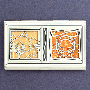 Country Mouse Business Card Case
