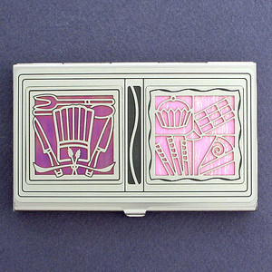Pastry Chef Business Card Case