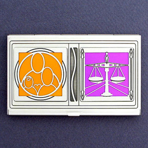 Family Law Attorney Business Card Case