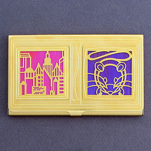 City Mouse Business Card Case