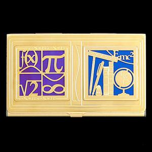 Mathematics Professor Business Card Case