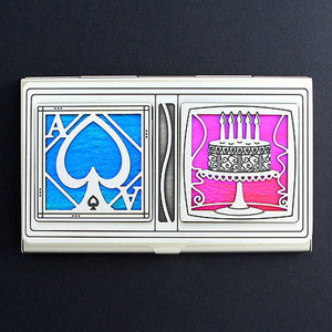 Cake Aces Business Card Case