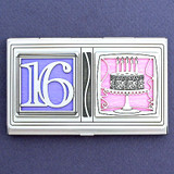 Sweet Sixteen Credit Card Case