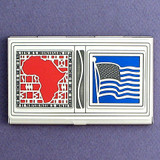 African American Business Card Case