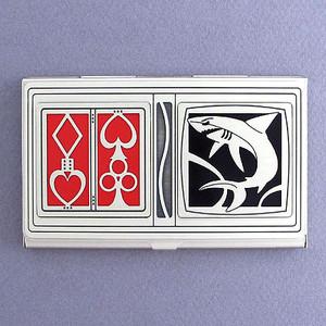 Cool Card Shark Business Card Holder