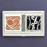 Cardiologist Business Card Case