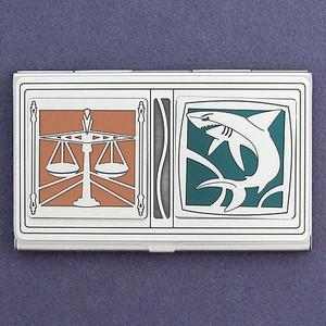 Attorney Business Card Holder Case