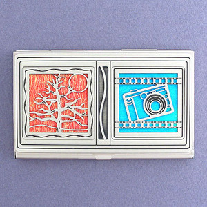 Nature Photographer Business Card Holder Case