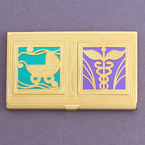 Obstetrician Business Card Case