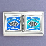 All Eyes Watching You Business Card Holder Case