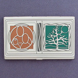 Genealogy Business Card Holder Case