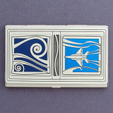 Naval Aviator Business Card Case