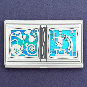 Microbiology Business Card Case