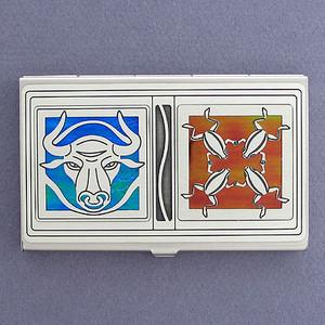 Bullfrog Business Card Case