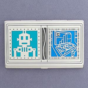Robotics Business Card Case