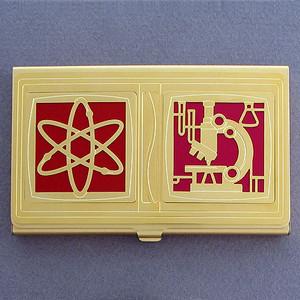 Nuclear Chemist Business Card Holder
